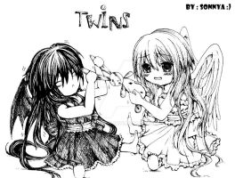 twins by sonnyaws
