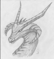 Dragon's Portrait by ADDaughtry