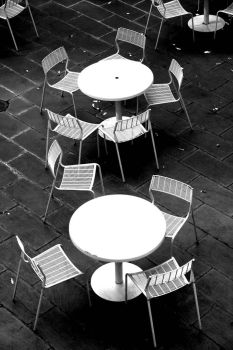 Tables and Chairs by kingkool6