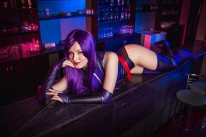 Deadpool Game - Psylocke~ by OniksiyaSofinikum
