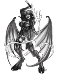 Scarlet Succubus by ProdigyDuck