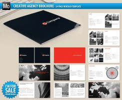 Creative Agency Brochure by Matt-designs