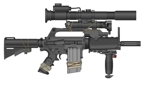 GAU-5/A 'CC Rifle' USAF Personal Defence Carbine by TastyJuice