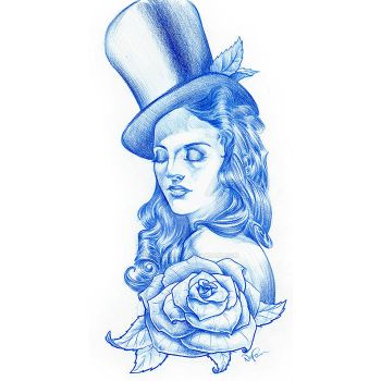 Top Hat and Rose by i-am-mighty