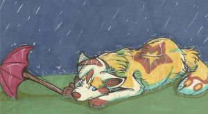 Rain rain go away by Tyck