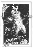 Creature From The Black Lagoon by MichaelBair