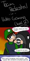 Pedestal: Video Gaming Level 2 by Digital-Skitty