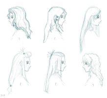 Hairstyles 9 by Moorzz