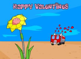 Transformers Happy Valentines 2008 by deadcal