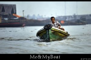 Me and My Boat by vstary