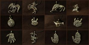 New pendants Feb 2015 by hontor