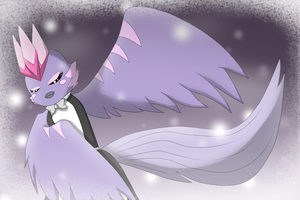 .:AT:. The Snow Angel by pichu-berry