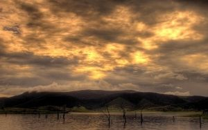 Golden Bloom Clouds by pantsonnos