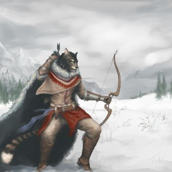 Cats of Skyrim by nako-chi