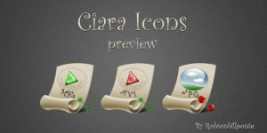 Ciara Icons Preview by Robsonbillponte666