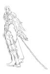 Sephiroth by FeatheredSeclude