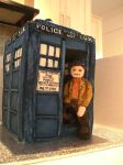 The Tardis Cake.1 by gertygetsgangster