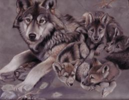 Wolves by R-becca