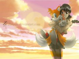 Katz and Tails by 2ble-ZZ