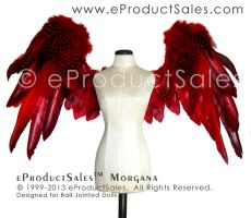 eProductSales Morgana BJD Nat feather angel Wings by eProductSales