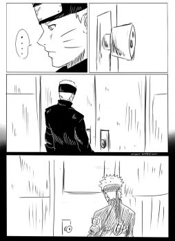Naruto's first time coming home to his wife Pg1 by bluedragonfan