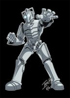 Dr Whoodles - Cyberman by Alienweirdo