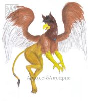 Griffin costume tf 4 by Ageaus