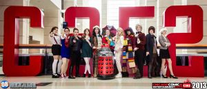 C2E2 FemDoctor Who Group by Asuka424