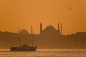 Istanbul Sunset by RYAFACAN