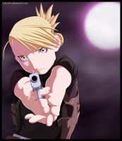 Busy Night - Riza Hawkeye by Toki-Artz