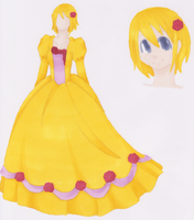 Kagamine Rin- Daughter of Evil by xXAluniaXx