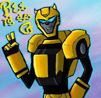 Bee is so G by Primeval-Wings