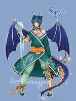 Ryujin - Commission for Haikari-La-Sin by BeesHoneypot