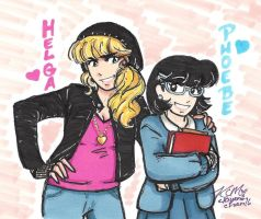 Hey Arnold: Best Friends Forever by Kiyomi-chan16