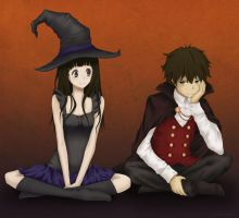 Hyouka Halloween by lagoliver