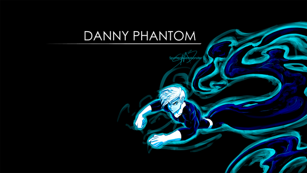 WallPaper - Danny Phantom by SpottedAlienMonster