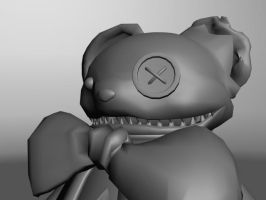 Mr Fluffeh Model WIP 5 by Ugh-first-aid