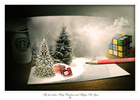 Christmas Card by paujas