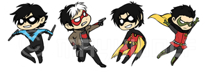Robins! by MayhWolf