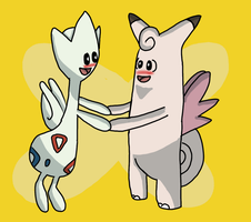 pokemon valentine challenge: egg group love by DOR20