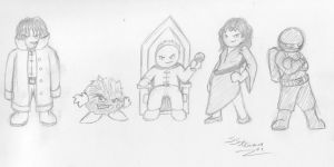 Jerry's Adventures lineup 3 by Inaaca