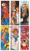 One Piece Bookmarks pt2 by DeannaEchanique