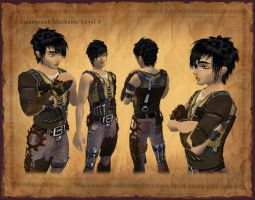 Steampunk Mechanic Tier 3 by Hyptosis