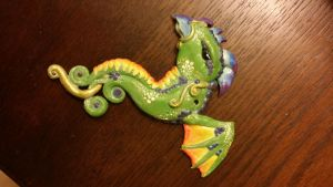 Rainbow Dragon for Myah by thelovelycrow
