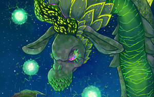 My preview shot for ArtoftheWild Charity Zine by SarahRichford