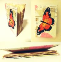 Art Crossing Gift: Butterfly Sketchbook by fungostine