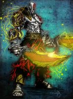 Kratos by acidddBurn