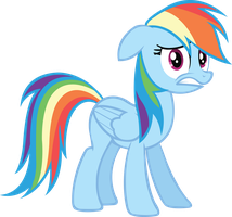 Rainbow Dash - Uh Oh by midnite99