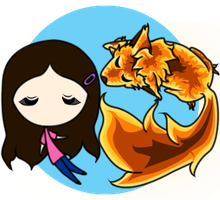 FianN and the fire wolf by Farizada