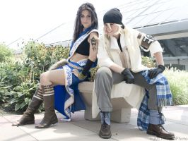 FFXIII Fang and Snow by shadowhearts